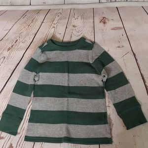 Old Navy Striped Thermal Shirt